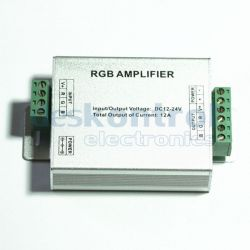 LED amplifier RGB LED strip 144w 12A