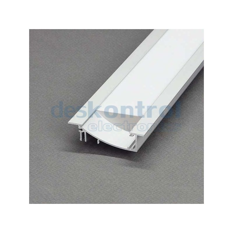 Aluminium profile LED strips Flat