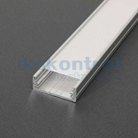 Aluminium profile LED strips Wide