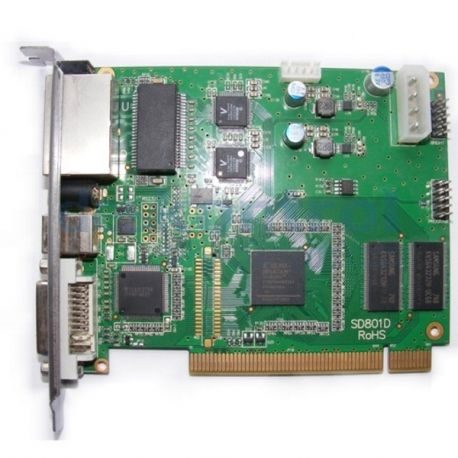 Send video card linsn TS802D for led displays
