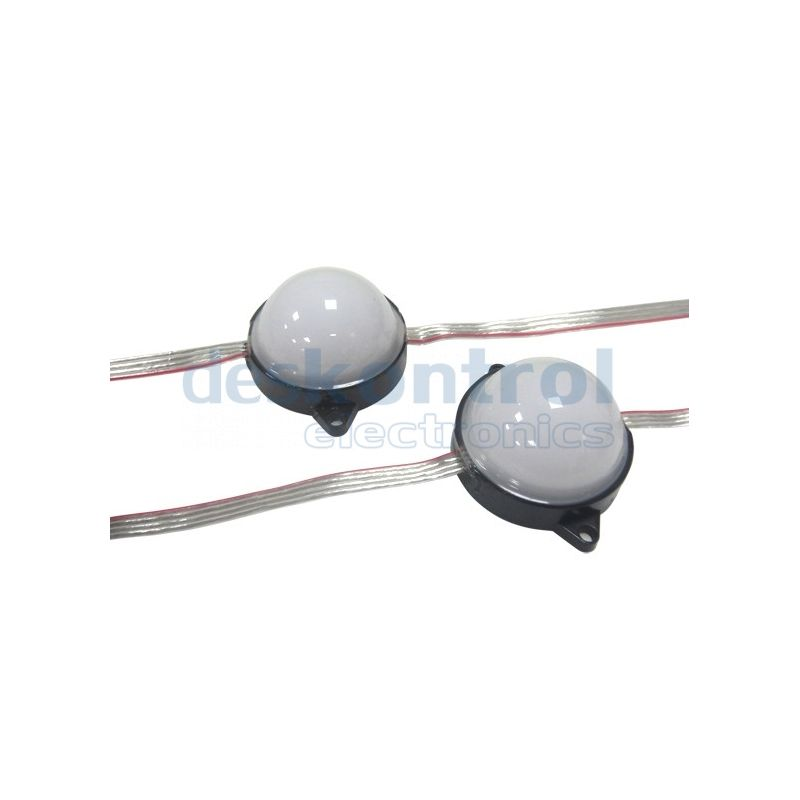 LED pixel 50mm con difusor WS2801 6x5050 28w 20pcs