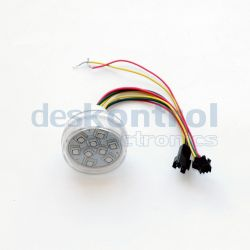 LED pixel 45mm UCS1903 9 leds 2.2w transparent
