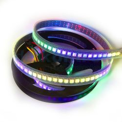 RGBW digital led strip SK6812 144 leds 29w 6000K 1 meter