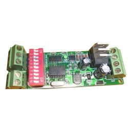 Modulo dimmer led 3 canales DMX.